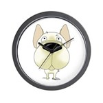 Big Nose Frenchie Wall Clock