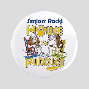 "Seniors Rock! 3.5"" Button"
