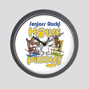 Seniors Rock! Wall Clock