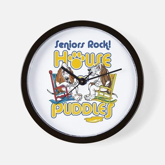 Seniors Rock! Wall Clock