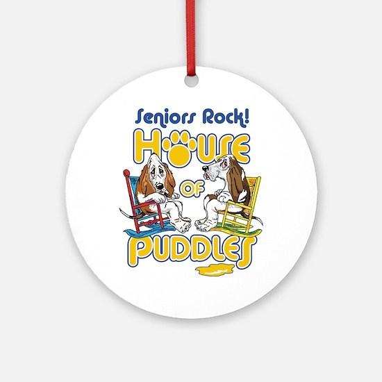 Seniors Rock! Ornament (Round)