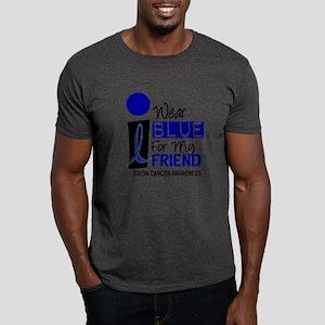 I Wear Blue For My Friend 9 CC Dark T-Shirt