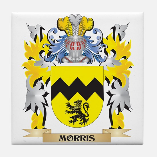 Morris Coat of Arms - Family Crest Tile Coaster