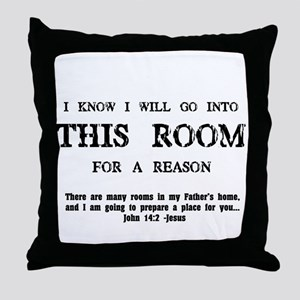 This Room Throw Pillow