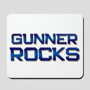 gunner rocks Mousepad