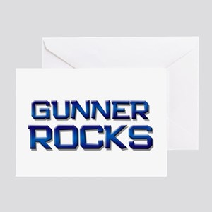 gunner rocks Greeting Card
