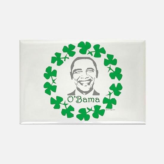 oddFrogg Obama Shamrock Rectangle Magnet