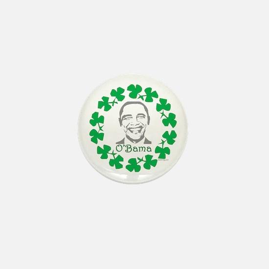 oddFrogg Obama Shamrock Mini Button