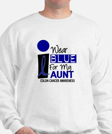 I Wear Blue For My Aunt 9 CC Sweatshirt