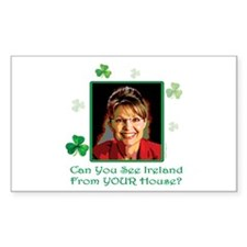 oddFrogg Irish Sarah Palin Bumper Sticker