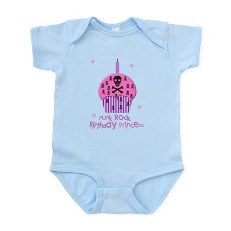 Punk Rock Birthday Princess Infant Bodysuit