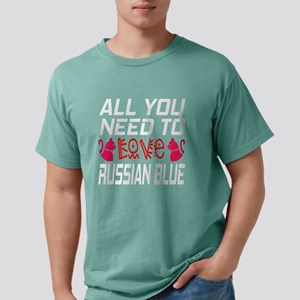 All You Need To Love ru Mens Comfort Colors® Shirt