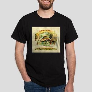 Speckled Trout Vintage Art,bachelor pad gi T-Shirt