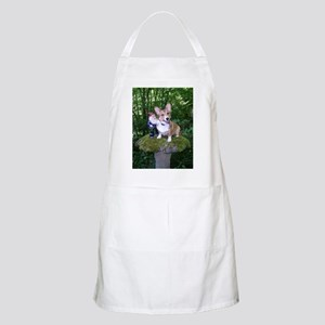 The Enchanted Corgi BBQ Apron
