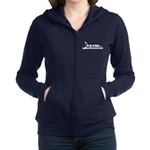 Women's Zip Sweatshirt Piccolo White