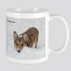 """I Made Yellow Snow..."" Mug"