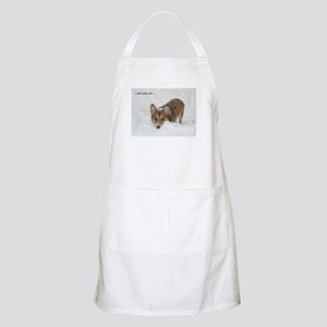 """I Made Yellow Snow..."" BBQ Apron"