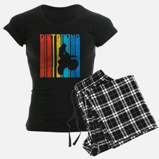 Vintage Dirt Biking Graphic T Shirt Pajamas