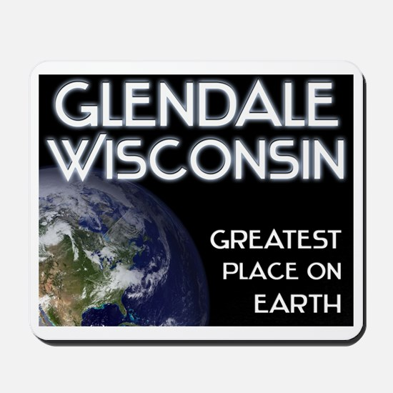 glendale wisconsin - greatest place on earth Mouse