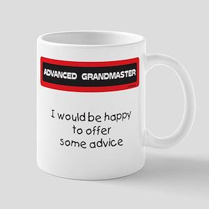 Advice Mug (Red and Black)