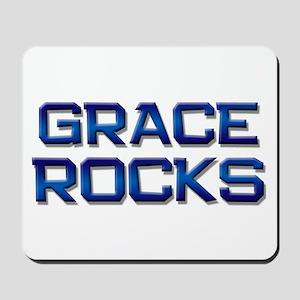 grace rocks Mousepad