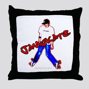 jamskate Throw Pillow