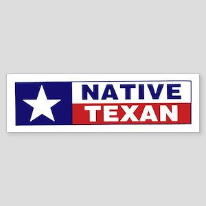 Native Texan Sticker (Bumper)