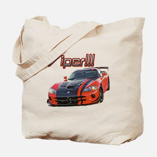 """Dodge Viper"" Tote Bag"