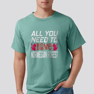 All You Need To Love mi Mens Comfort Colors® Shirt