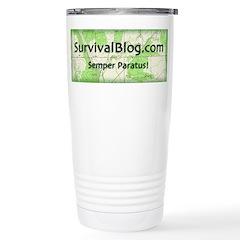 SurvivalBlog Stainless Steel Travel Mug