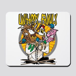 Unhappy Family Meal Mousepad