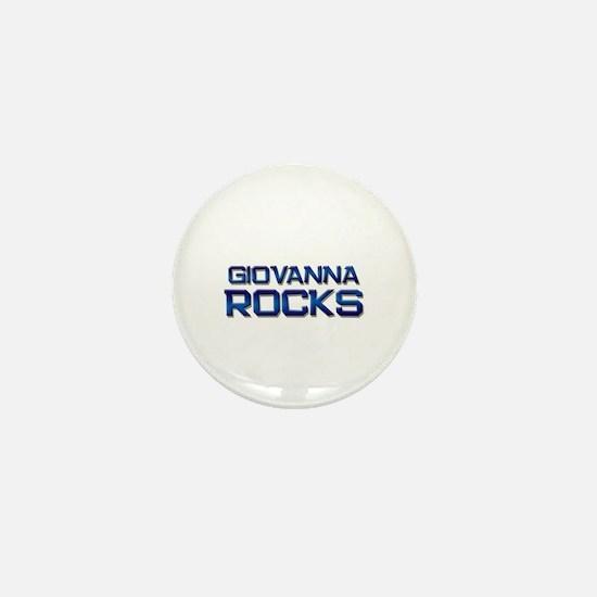 giovanna rocks Mini Button