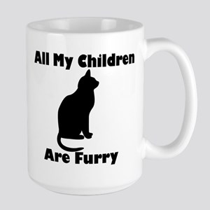 All my Children are Furry Large Mug
