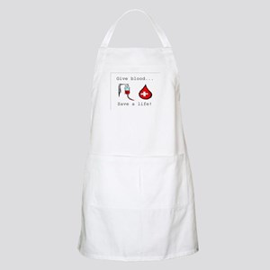 Give blood BBQ Apron