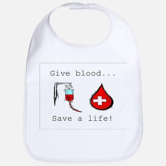 Give blood Bib