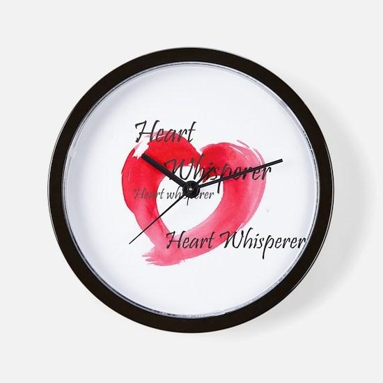 Cute Whisperer Wall Clock