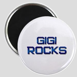 gigi rocks Magnet
