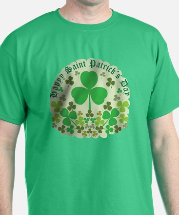 Shamrocks Green and Other T-Shirt