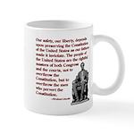 Preserve the Constitution Mug