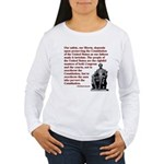 Preserve the Constitution Women's Long Sleeve T-Sh