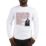 Preserve the Constitution Long Sleeve T-Shirt