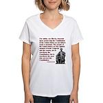 Preserve the Constitution Women's V-Neck T-Shirt