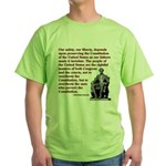 Preserve the Constitution Green T-Shirt