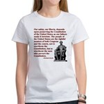 Preserve the Constitution Women's T-Shirt