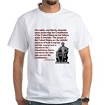 Preserve the Constitution White T-Shirt