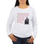 Shake off the existing Women's Long Sleeve T-Shirt