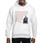 Shake off the existing Hooded Sweatshirt
