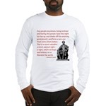 Shake off the existing Long Sleeve T-Shirt