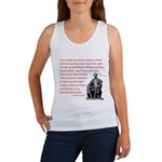 Shake off the existing Women's Tank Top