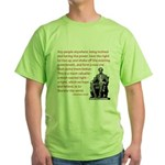 Shake off the existing Green T-Shirt